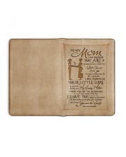 TO MY MOM   Medium - Leather Notebook full