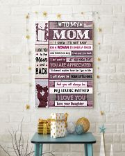 TO MY MOM  24x36 Poster lifestyle-holiday-poster-3