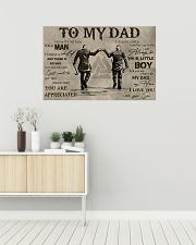 TO MY VIKING DAD - MB311 36x24 Poster poster-landscape-36x24-lifestyle-01