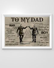 TO MY VIKING DAD - MB311 36x24 Poster poster-landscape-36x24-lifestyle-02