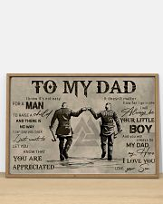 TO MY VIKING DAD - MB311 36x24 Poster poster-landscape-36x24-lifestyle-03