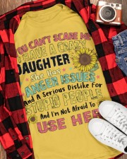 IM NOT AFRAID TO USE HER Classic T-Shirt apparel-classic-tshirt-lifestyle-front-163