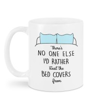 STEAL THE BED COVERS Mug back
