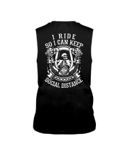 I RIDE SO I CAN KEEP SOCIAL DISTANCE - MB248 Sleeveless Tee thumbnail