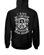 I RIDE SO I CAN KEEP SOCIAL DISTANCE - MB248 Hooded Sweatshirt thumbnail