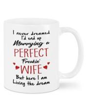 HERE I AM LIVING THE DREAM  Mug front