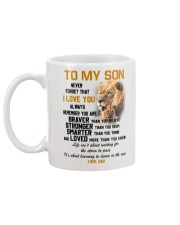 TO MY SON  Mug back