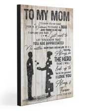 TO MY MOM  Gallery Wrapped Canvas Prints tile