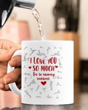 I LOVE YOU SO MUCH FOR SO MANY REASONS Mug ceramic-mug-lifestyle-65