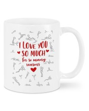 I LOVE YOU SO MUCH FOR SO MANY REASONS Mug front