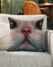 """Best gift for cat lovers Indoor Pillow - 16"""" x 16"""" aos-decorative-pillow-lifestyle-front-04"""