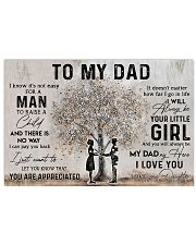 TO MY NURSE DAD  Horizontal Poster tile