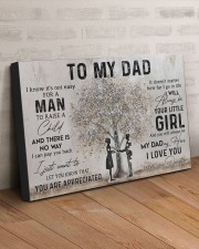 TO MY NURSE DAD  30x20 Gallery Wrapped Canvas Prints aos-canvas-pgw-30x20-lifestyle-front-07