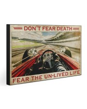 FEAR THE UNLIVED LIFE 30x20 Gallery Wrapped Canvas Prints front