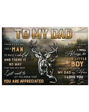 TO MY DAD  Horizontal Poster tile