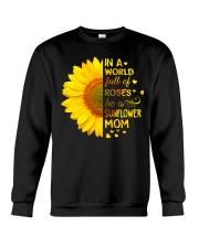 BE A SUNFLOWER MOM  Crewneck Sweatshirt tile
