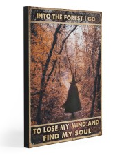 INTO THE FOREST I GO  20x30 Gallery Wrapped Canvas Prints front