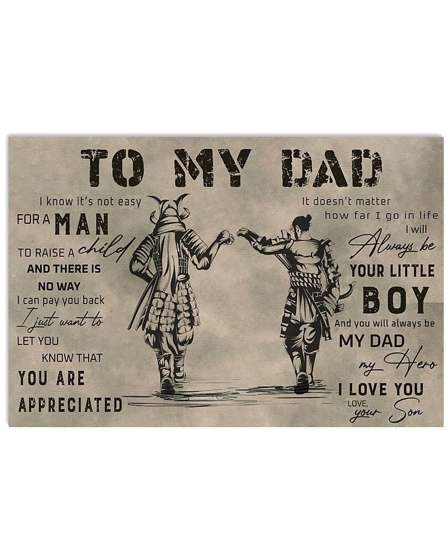 TO MY DAD - MB292 36x24 Poster
