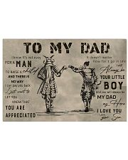 TO MY DAD - MB292 36x24 Poster front