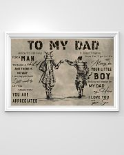 TO MY DAD - MB292 36x24 Poster poster-landscape-36x24-lifestyle-02