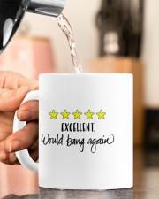 WOULD BANG AGAIN  Mug ceramic-mug-lifestyle-65