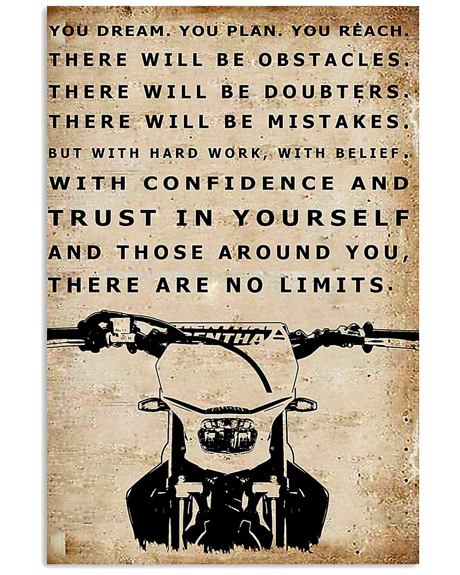 THERE ARE NO LIMITS - MB301 16x24 Poster
