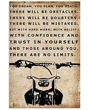 THERE ARE NO LIMITS - MB301 16x24 Poster front