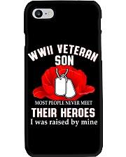 WWII VETERAN SON - MB337 Phone Case thumbnail