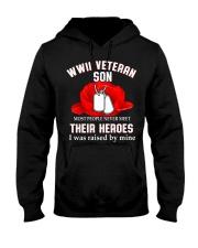 WWII VETERAN SON - MB337 Hooded Sweatshirt thumbnail