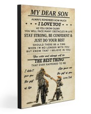 TO MY SON  20x30 Gallery Wrapped Canvas Prints front