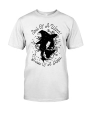SOUL OF A WITCH HEART OF A HIPPIE Classic T-Shirt front