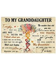 TO MY GRANDDAUGHTER - MB365 17x11 Poster thumbnail