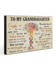 TO MY GRANDDAUGHTER - MB365 30x20 Gallery Wrapped Canvas Prints front