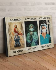 NURSE - A WARRIOR OF CHRIST 30x20 Gallery Wrapped Canvas Prints aos-canvas-pgw-30x20-lifestyle-front-07