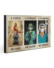NURSE - A WARRIOR OF CHRIST 30x20 Gallery Wrapped Canvas Prints front
