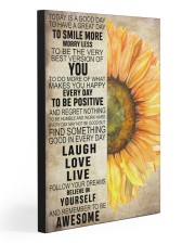 REMEMBER TO BE AWESOME 20x30 Gallery Wrapped Canvas Prints front