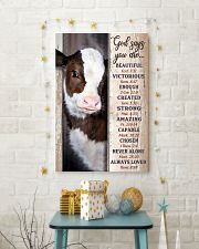 GOD SAYS YOU ARE  24x36 Poster lifestyle-holiday-poster-3
