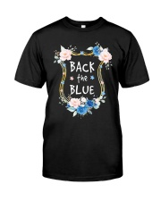 BACK THE BLUE  - MB372 Classic T-Shirt front