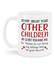 AT LEAST YOU HAVE ME  Mug back