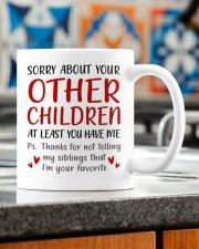 AT LEAST YOU HAVE ME  Mug ceramic-mug-lifestyle-57