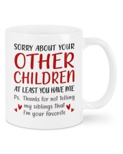 AT LEAST YOU HAVE ME  Mug front