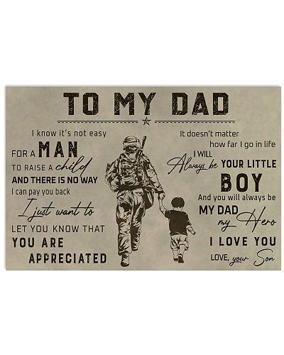 TO MY VETERAN DAD - MB313