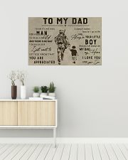 TO MY VETERAN DAD - MB313 36x24 Poster poster-landscape-36x24-lifestyle-01