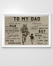 TO MY VETERAN DAD - MB313 36x24 Poster poster-landscape-36x24-lifestyle-02