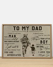 TO MY VETERAN DAD - MB313 36x24 Poster poster-landscape-36x24-lifestyle-03