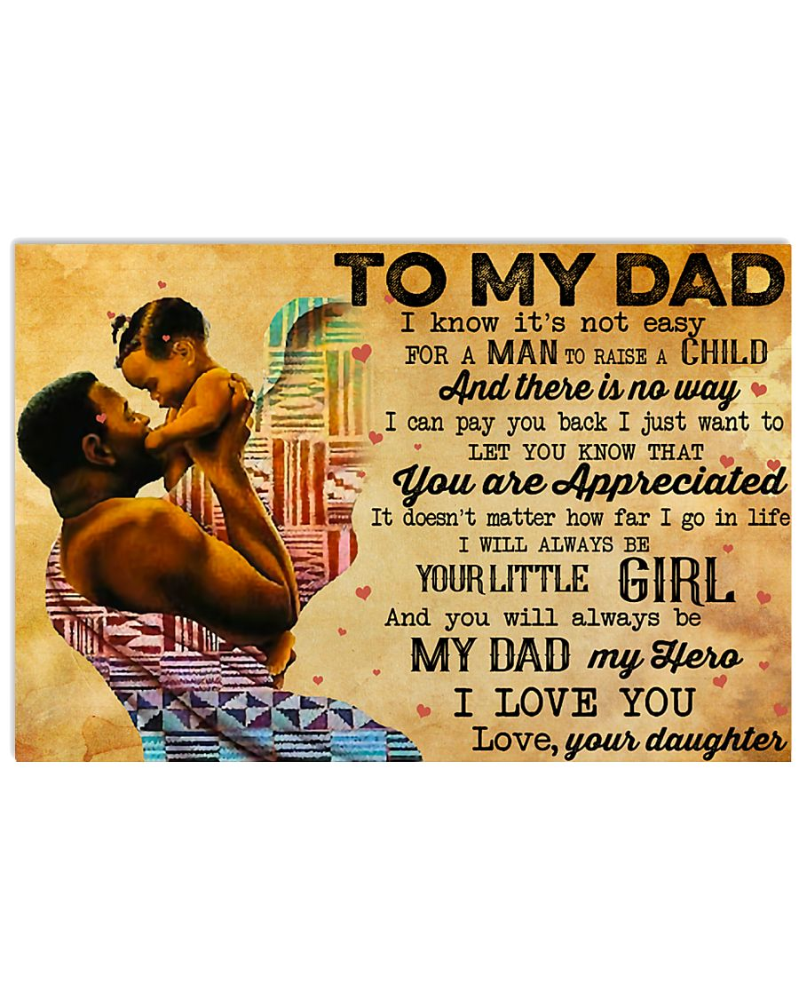 TO MY DAD - MB243 24x16 Poster