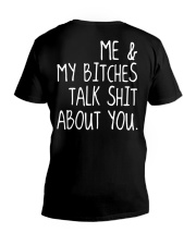 ME AND MY BITCHES - MB326 V-Neck T-Shirt thumbnail