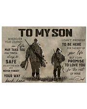 TO MY SON  17x11 Poster thumbnail