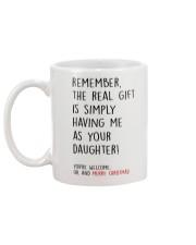 THE REAL CHRISTMAS GIFT  Mug back