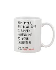 THE REAL CHRISTMAS GIFT  Mug front